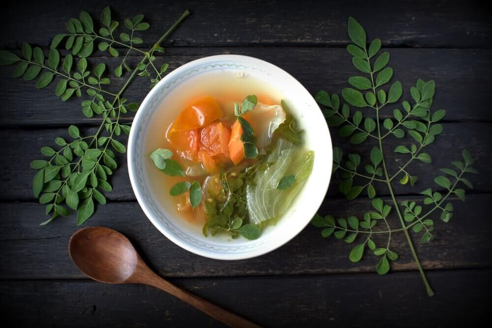 dîners pour perdre du poids : soupes