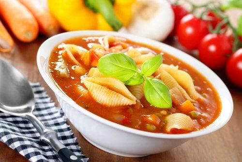 Réaliser une soupe à l'ortie