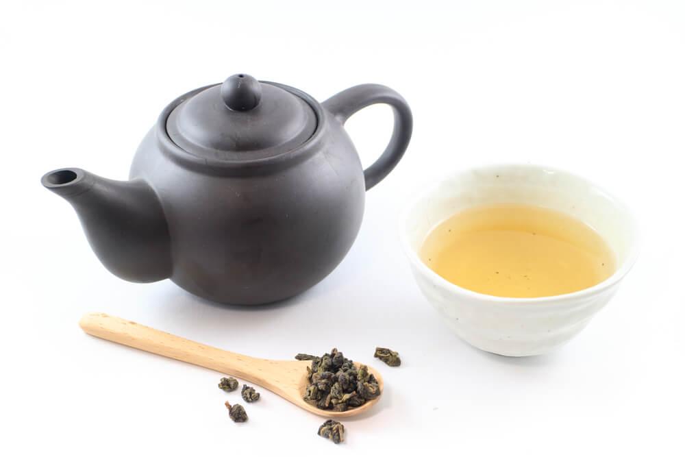 Le thé bleu