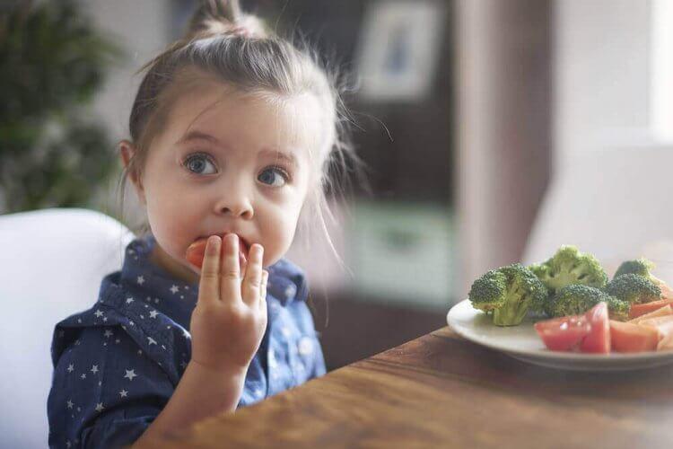alimentation chez les enfants de 3 ans