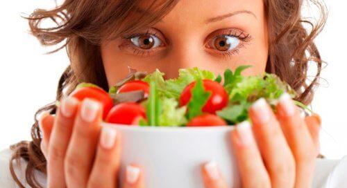 Recette de la salade grecque.