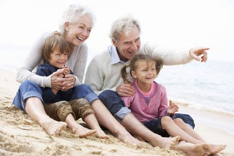Les grands-parents sont une ancre dans notre vie