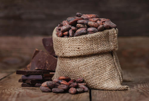Le chocolat noir a un effet antioxydant.