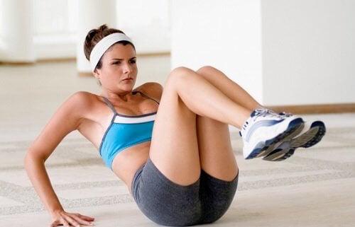 Faire trop d'exercice physique peut causer des blessures