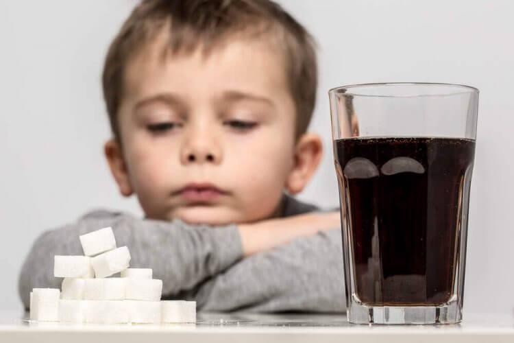 boissons sucrées à éviter dans l'alimentation des enfants de 3 ans