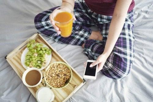 perdre du poids rapidement avec un petit-déjeuner sain