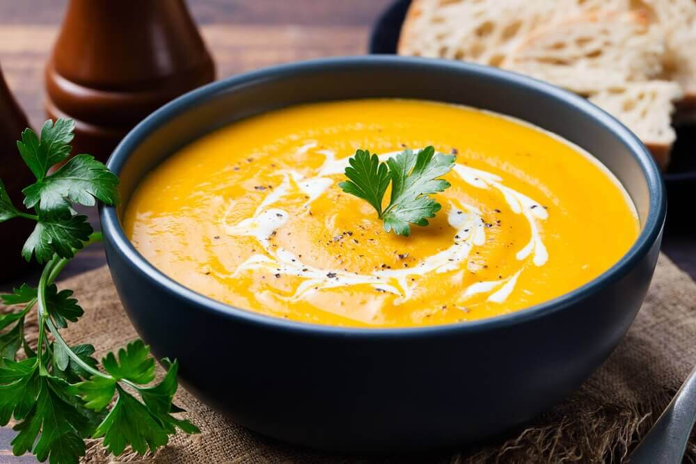 bienfaits des carottes en velouté