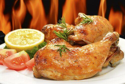Découvrez comment préparer le poulet cuit au four