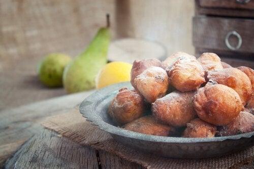 desserts sans sucre : beignets