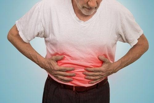 Symptômes des ulcères d'estomac.