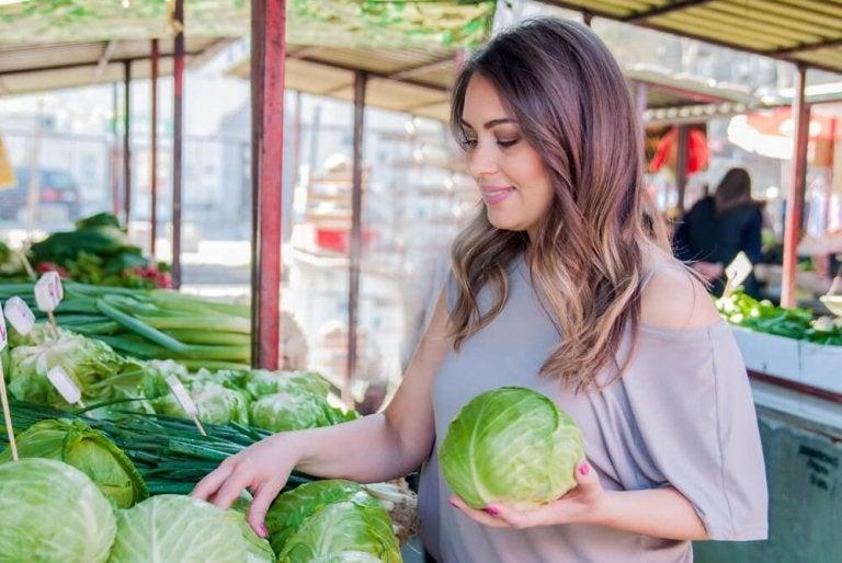 Rouleaux de chou et de carotte pour lutter contre les maladies inflammatoires