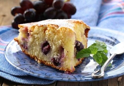 Un gâteau à base de raisin et de cannelle parfait pour les femmes enceintes