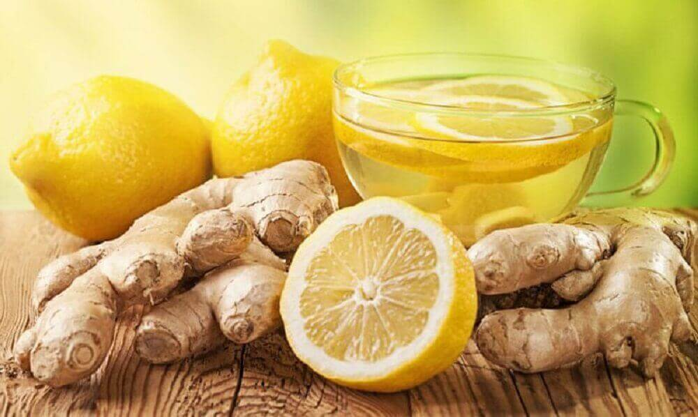 le gingembre et le citron pour calmer les douleurs abdominales