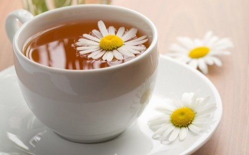 remède contre la toux au gingembre et à la camomille