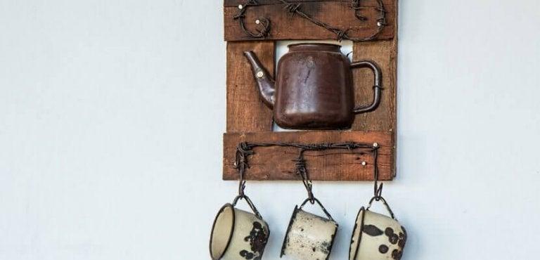 9 idées pour décorer sa cuisine avec des objets recyclés
