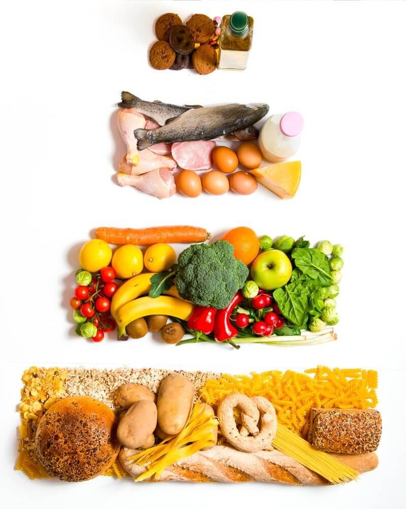 Quelle est la pyramide alimentaire actuelle ?