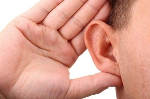 les complications de surdité de l'oreille