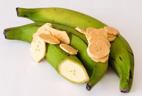 Les patacones sont à base de bananes vertes