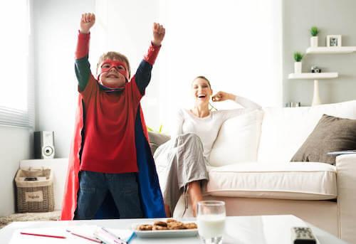 les enfants attendent du positif de leur mère
