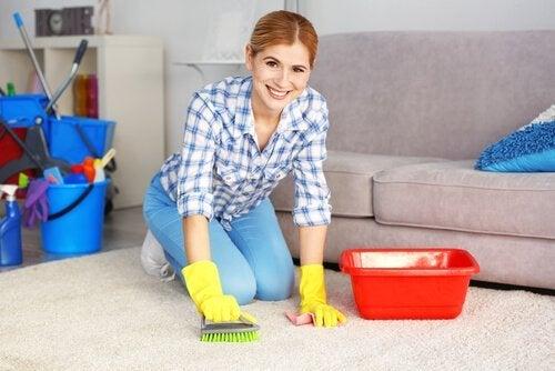 5 produits naturels pour nettoyer facilement des tapis