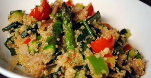 salade grecque au quinoa