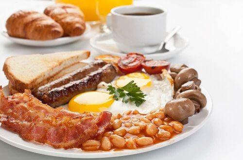 Recette avec des protéines pour le matin.