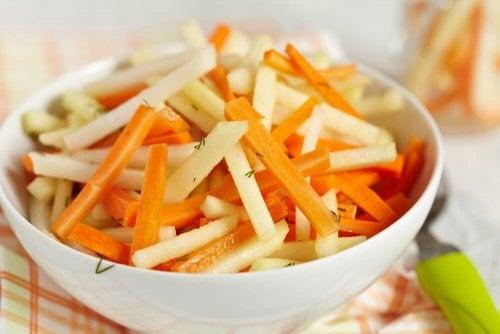 des recettes riches en fibres salade de carotte-salade-carottes