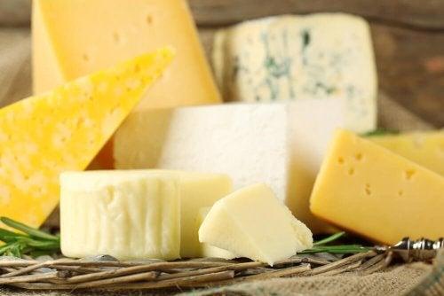 les produits laitiers dans le régime allégé