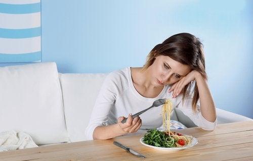 facteurs qui influencent la dépression : mauvaise alimentation