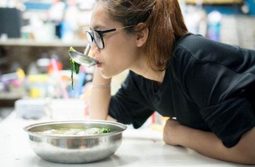 Caractéristiques du régime de la soupe au choux