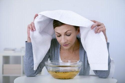 Des astuces pour avoir des poumons plus sains : inhalations