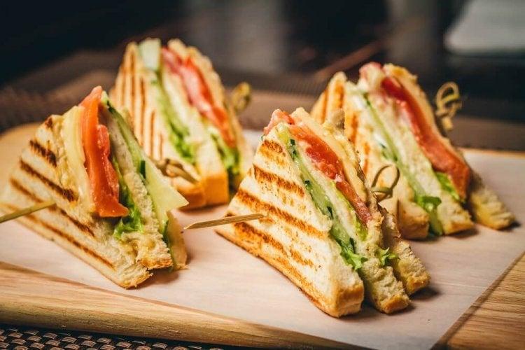 Recettes de dîners en famille : le sandwich club