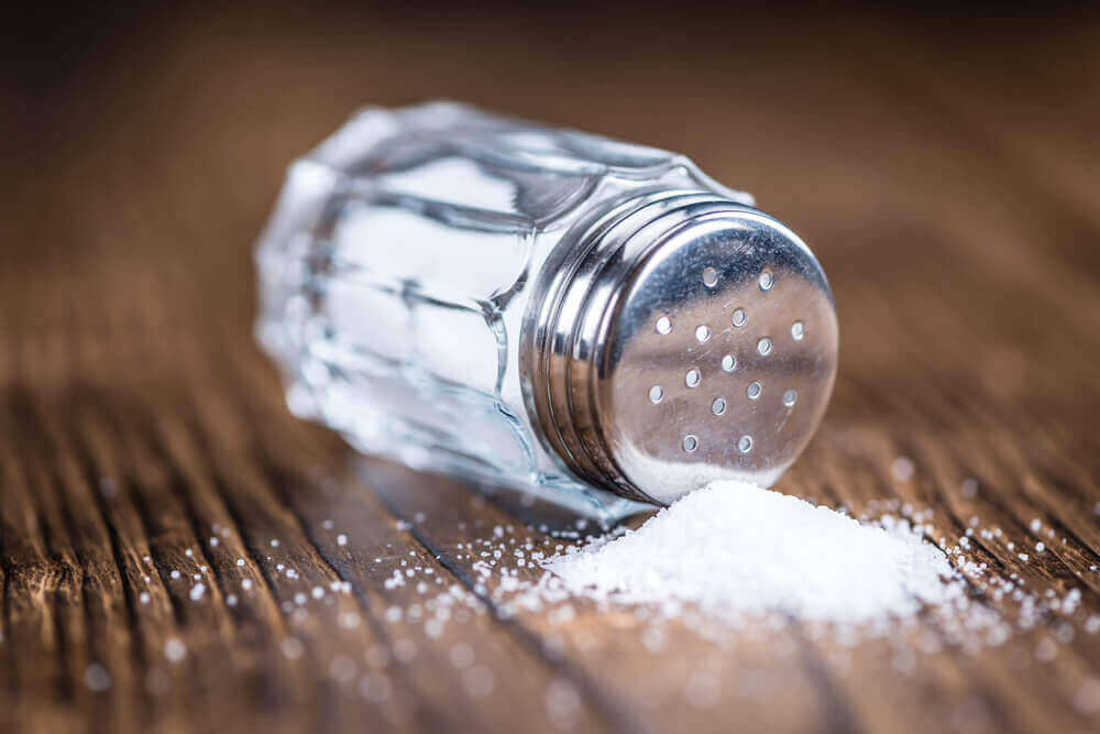 éviter le sel pour traiter l'hypotension