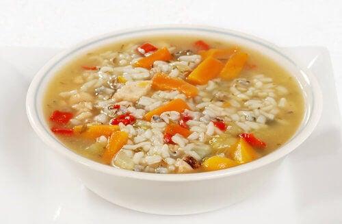 3 soupes pour guérir de la diarrhée