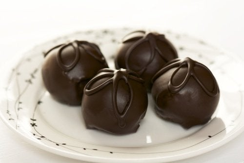 recette traditionnelle de truffes au chocolat