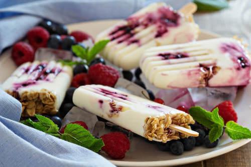 3 façons de préparer du yaourt glacé
