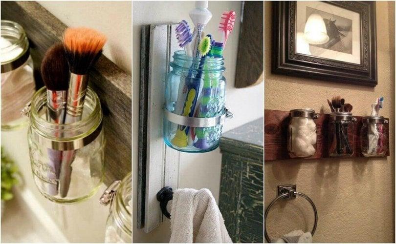 Un porte brosse à dents original dans votre salle de bain.