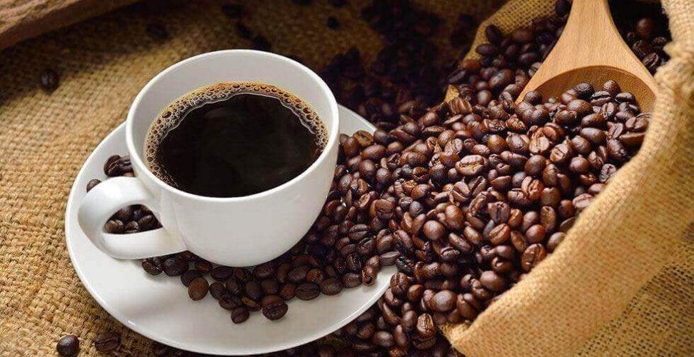 Effets des tasses de café.