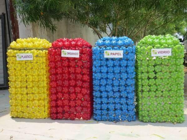 Fabriquer des poubelles en plastique