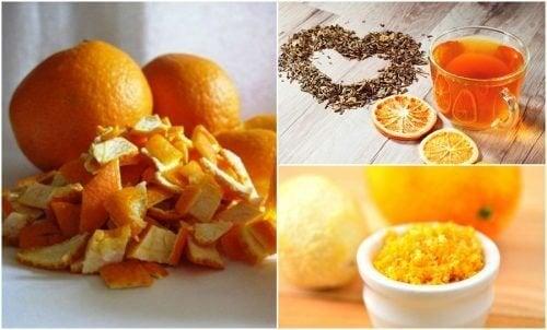 5 façons d'utiliser les zestes d'orange