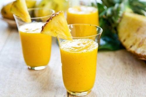 L'ananas purifie le côlon