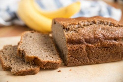Une recette saine de pain à la banane