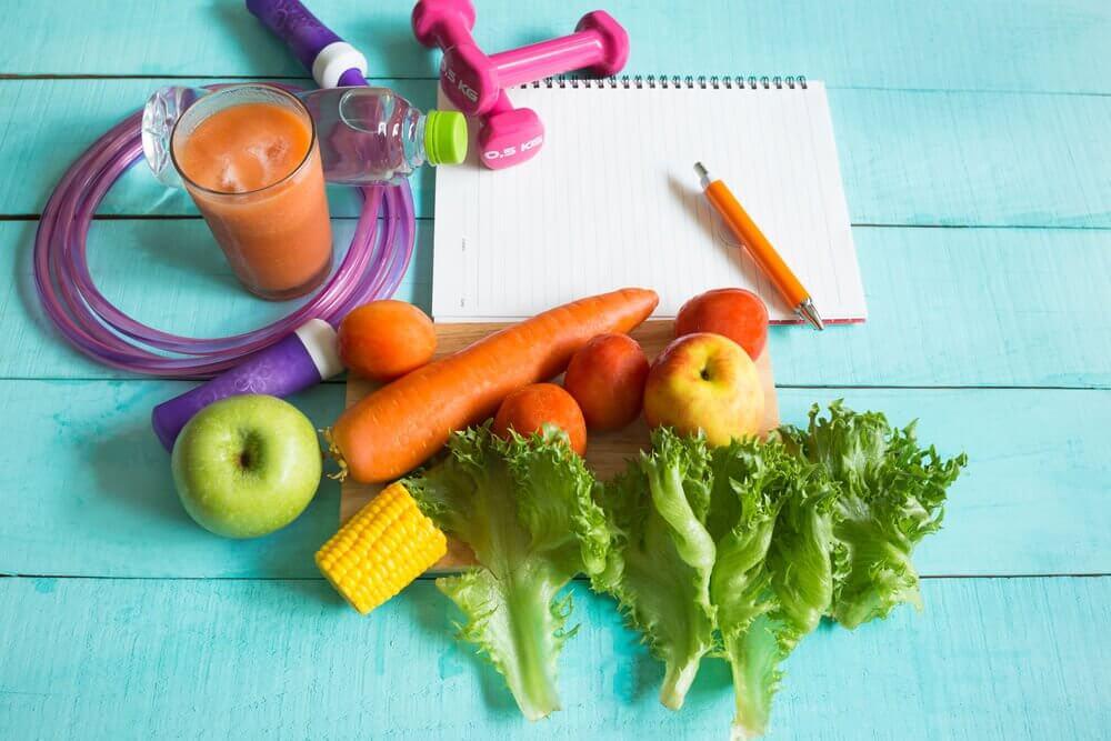 L'alimentation équilibrée et l'activité physique pour perdre du poids