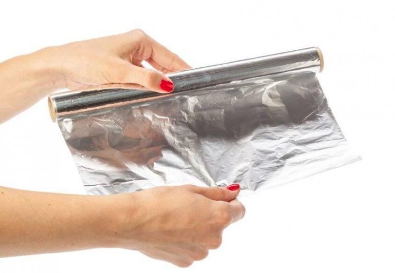 Les dangers du papier d'aluminium en cuisine
