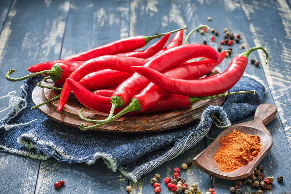 le piment pour relever le riz de chou-fleur mexicain