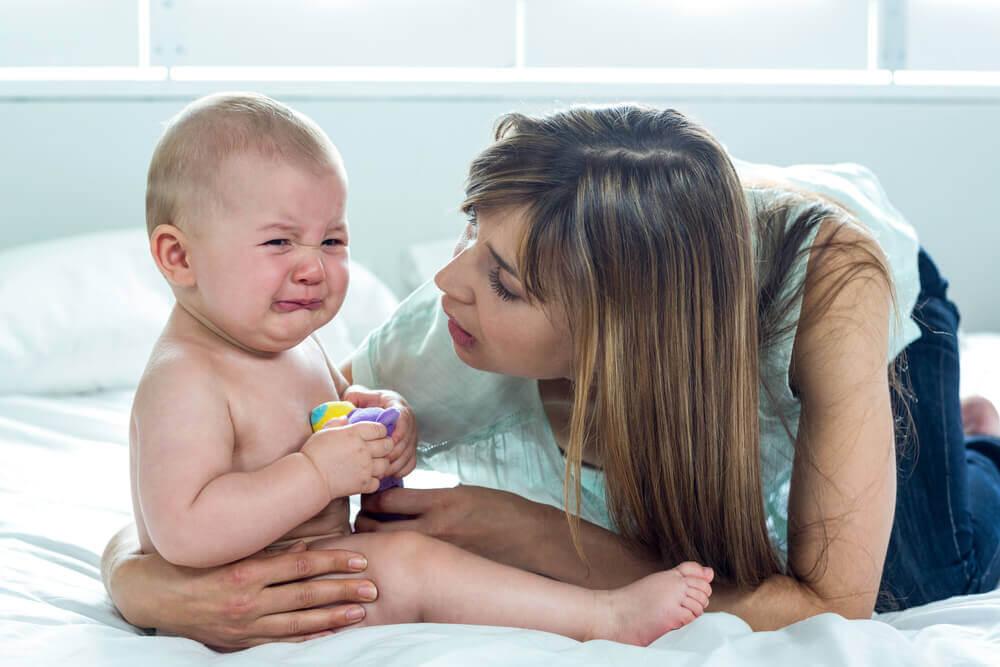 La punition physique d'un bébé et ses conséquences