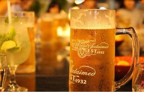 Les bienfaits du régime à la bière