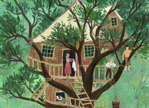 Comment construire une cabane dans l'arbre pour votre enfant