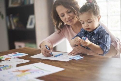 l'éducation des enfants dans les familles monoparentales