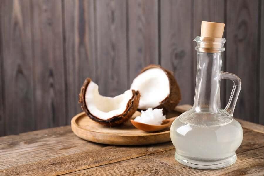 l'huile de coco pour